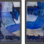 24+25 afgraving in Purnode – waterverf – 50x70cm