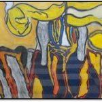 56 interventie van Yin en Yan 70 x 50 cm