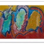 60 schilderij 60x40cm