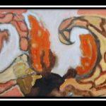 61 schilderij 80 x 30cm