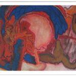 89 schilderij 50 x 30cm