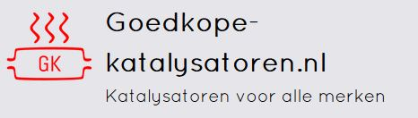Logo website Goedkope katalysatoren